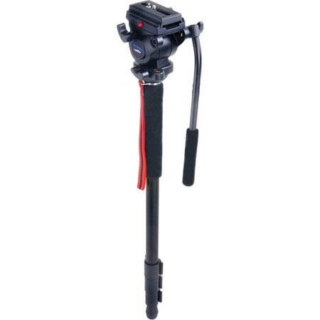 Acebil MP VN Section Aluminum Video Monopod DV Pan Head MaHeight lbs Load Capacity 334 - 58