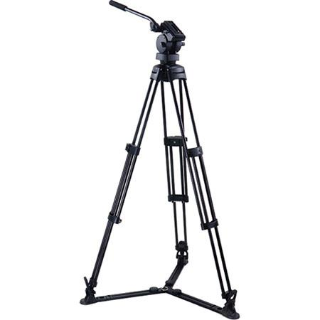 Acebil P GX Professional Tripod System H Fluid Head Aluminum Tripod GS Ground Spreader S Carry Case  56 - 286