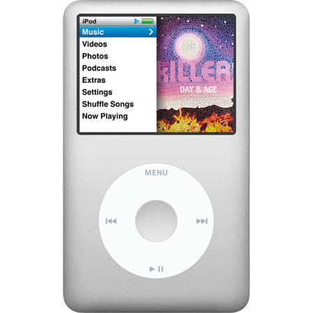 Apple iPod Classic GB Silver 165 - 140