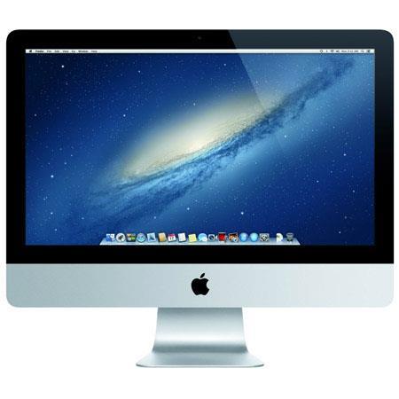 Apple iMac All One Desktop ComputerLED Intel Core i Quad Core GHz GB SDRAM GB Flash Storage 120 - 629