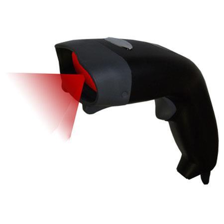 Adesso Nuscan Optical Laser Long Range USB Barcode Scanner 123 - 493
