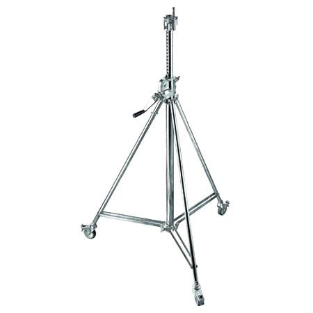 Avenger Wind Up Cine Stand Braked Casters Sections Riser Chrome Steel 229 - 264