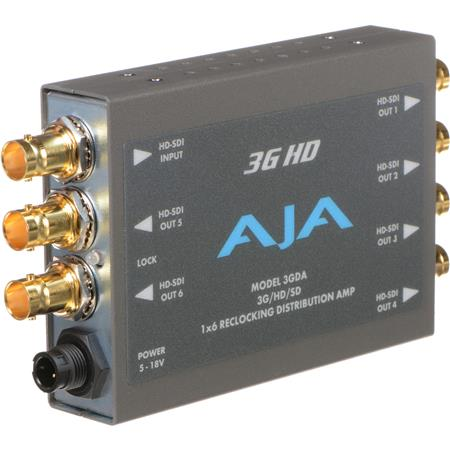 AJA GDAGHDSD Reclocking Distribution Amplifier PLEASE NOTE POWER SUPPLY SOLD SEPARATELY 203 - 712