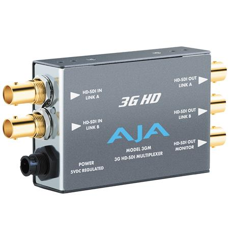 AJA GM GG HD SDI Multiplexer PLEASE NOTE POWER SUPPLY SOLD SEPARATELY 98 - 449