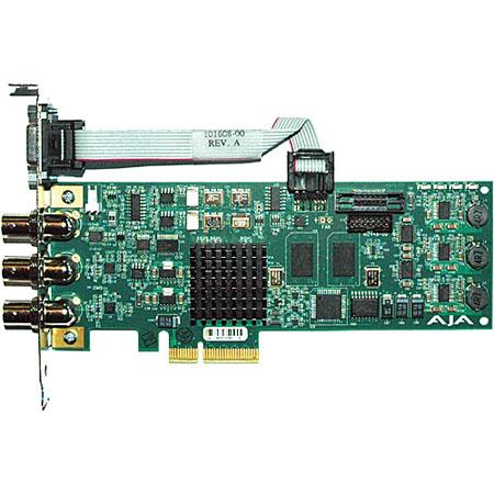 AJA Lane PCIE Card HDSD SDI IO GenlockLTC CH Embedded Audio RS  188 - 20