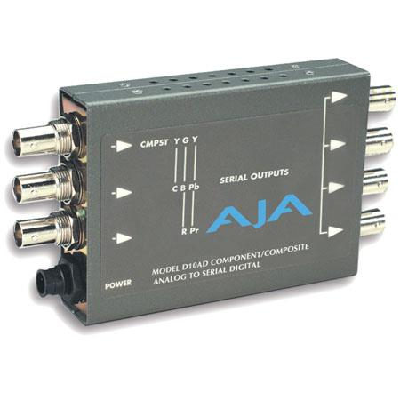 AJA DAD YPbPr Betacam or RGB Component Analog to SDI Converter Selectable PLEASE NOTE POWER SUPPLY S 27 - 614