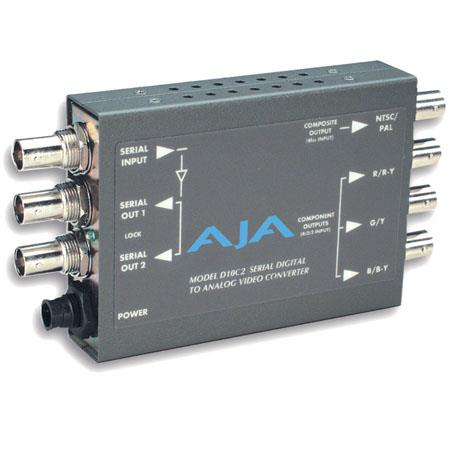 AJA DC SDI to Analog Component bit Analog Converter PLEASE NOTE POWER SUPPLY SOLD SEPARATELY 86 - 345