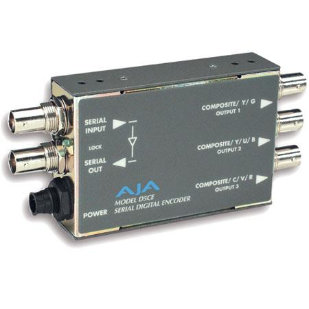 AJA DCE SDI to ComponentComposite Analog Video Decoder PLEASE NOTE POWER SUPPLY SOLD SEPARATELY 40 - 516