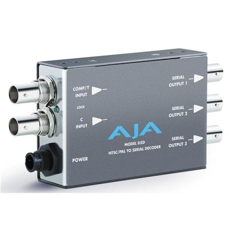 AJA DD NTSCPAL to SDI Decoder PLEASE NOTE POWER SUPPLY SOLD SEPARATELY 91 - 112