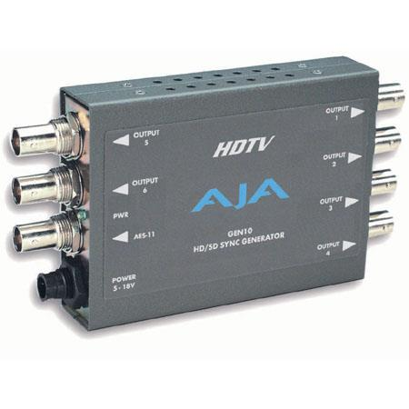 AJA GEN HDSD Sync Generator HD Tri level Sync Generation PLEASE NOTE POWER SUPPLY SOLD SEPARATELY 68 - 122