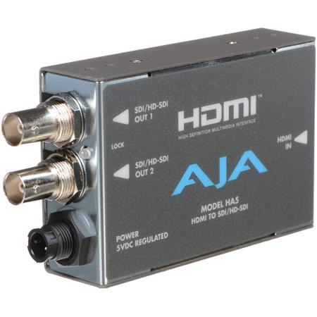 AJA HA HDMI to SDIHD SDI Video and Audio Converter 74 - 679