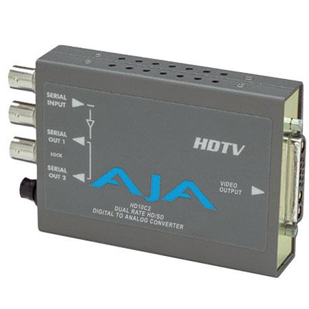 AJA HDC HDTV Serial Digital to Component Converter PLEASE NOTE POWER SUPPLY SOLD SEPARATELY 103 - 323