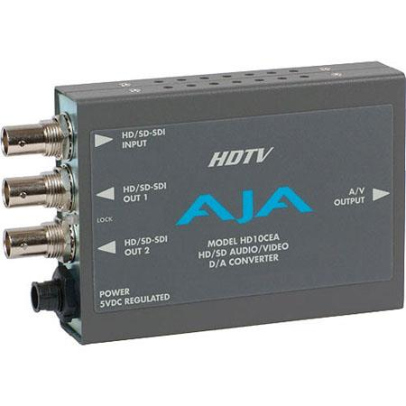 AJA HDCEA SDIHD SDI to Analog AudioVideo Converter PLEASE NOTE POWER SUPPLY SOLD SEPARATELY 216 - 483