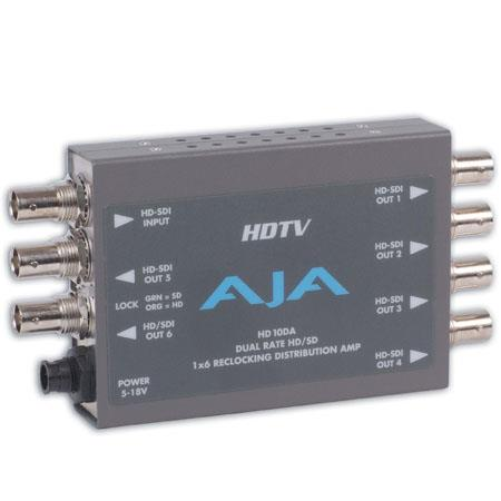 AJA HDDAHDSD Dual Rate Reclocking Distribution Amplifier PLEASE NOTE POWER SUPPLY SOLD SEPARATELY 74 - 679