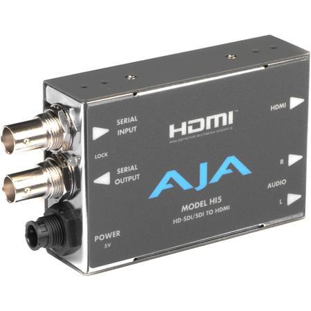 AJA Hi HD SDISDI to HDMI Video and Audio Converter 74 - 679