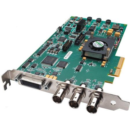 AJA KONA LHe Plus HD SDI Analog Video Capture Playback PCI Card 43 - 672