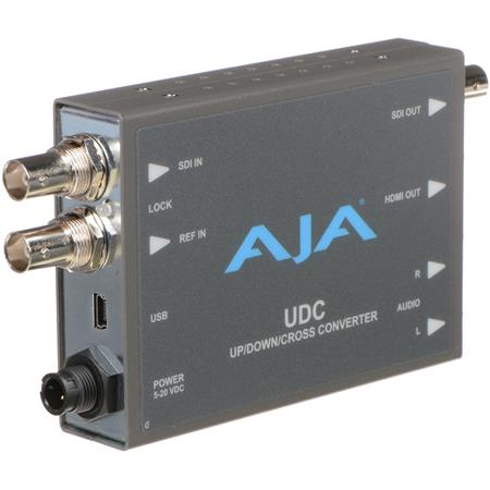 AJA UpDownCross Converter Channel RCA Analog Audio Output 360 - 87