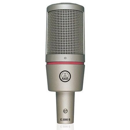 AKG C Small Diaphragm Condenser Microphone Cardioid Polar Pattern 46 - 387