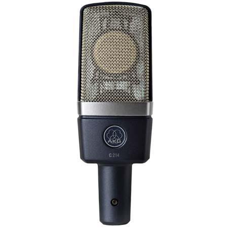 AKG C Edge Terminated Large Diaphragm StudioStage Condenser Microphone Recording Guitars 241 - 320