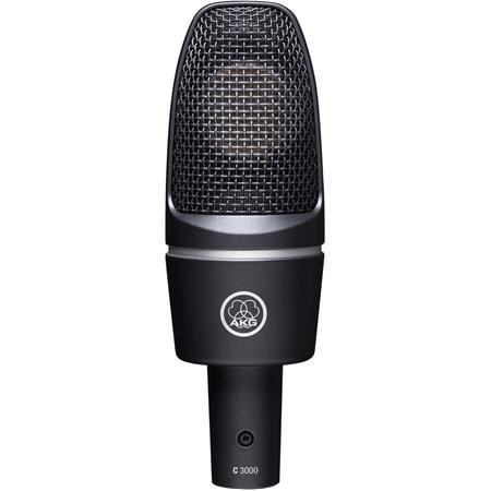 AKG C Large Diaphragm Cardioid Stage and Studio Condenser Microphone 137 - 482
