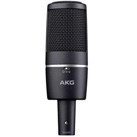 AKG C Large Diaphragm Condenser Microphone CardioidHypercardioidOmnidirectional 42 - 653