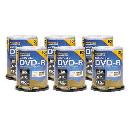 Aleratec LightScribe DVD R V Duplicator Grade MediaPack Cake Plate Storage Module 276 - 280