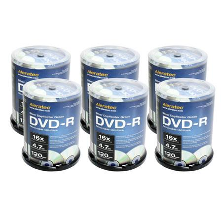 Aleratec Silver Duplicator GradeDVD R Recordable Pack 89 - 463