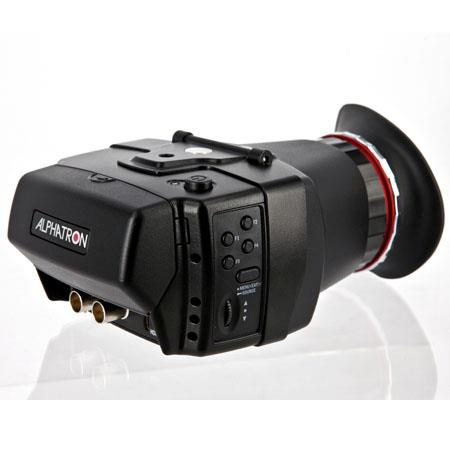 Alphatron Broadcast Electronics EVF W G Electronic Viewfinder LED Backlit LCD Bit RGBResolution 101 - 676