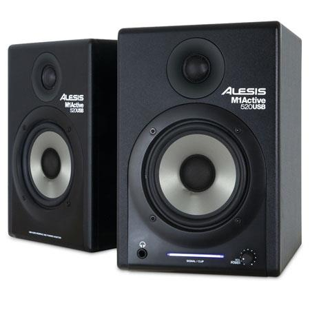 Alesis MActive USB Way Stereo Nearfield Monitors Pair 56 - 709
