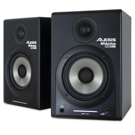 Alesis MActive USB Way Stereo Nearfield Monitors Pair 365 - 187