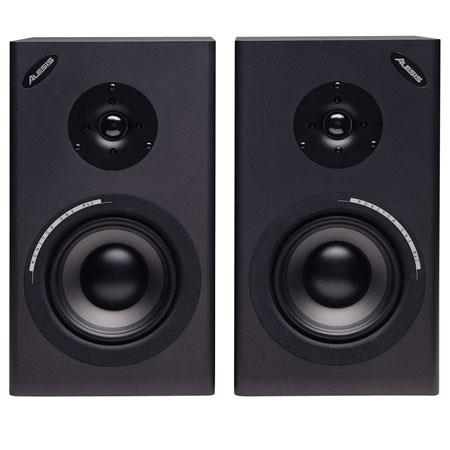 Alesis Monitor One Mk Passive Two Way Studio Reference Monitors Woofer Shielded Pair 104 - 4