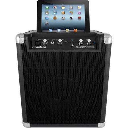 Alesis TransActive Wireless Portable Speaker System USB Charging Port LineGuitar Input Stereo AuInpu 131 - 104