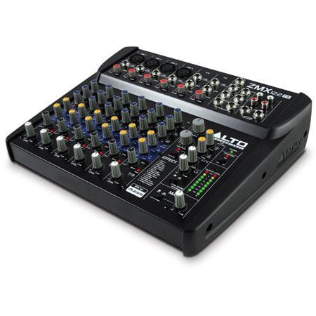 Alto ZEPHYR Channel Compact Mixer Effects dBu SNR bit Alesis DSP Ohms Microphone Input W Power Consu 185 - 166