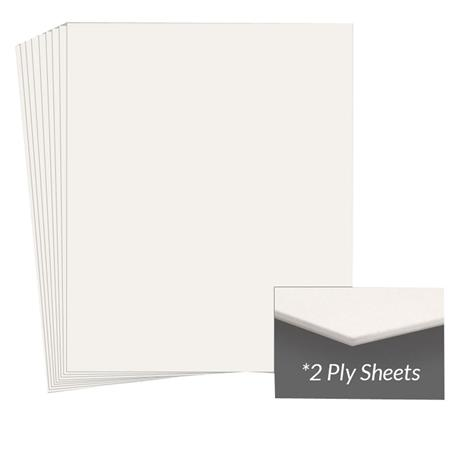 Archival Methods Conservation Mat BoardPly Pearl Package of  239 - 144