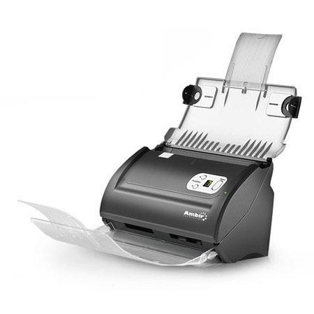 Ambir ImageScan Pro i High Speed DupleDocument ID Scanner ppmipm Color ppmipm GrayscaleBW dpi USB Sh 284 - 316