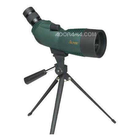 AlpenAngle EyeWaterproof Rubber Covered Porro Prism Spotting Scope Multi Coated Tripod and Carrying  142 - 283