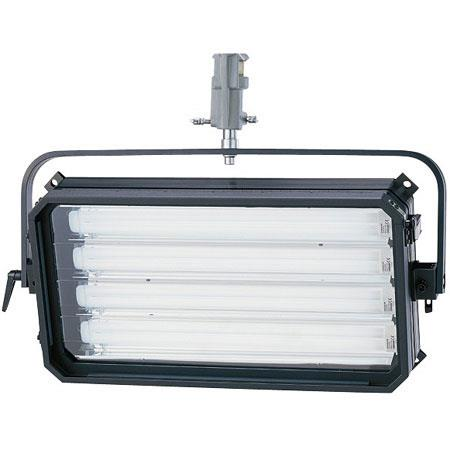 Arri Studio Cool Four Tube Fluorescent Light Unit DMX Control Hanging Model Watt Volts AC 81 - 621