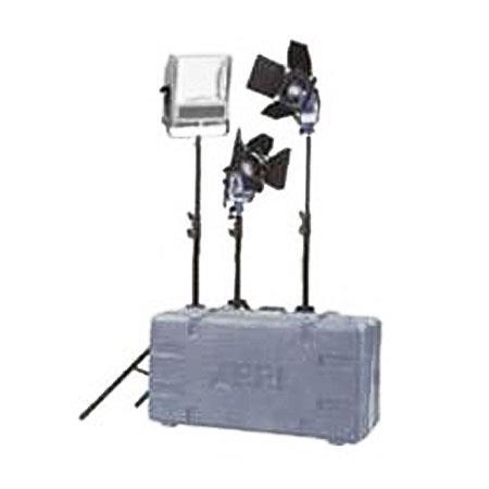 Arri Soft Key Fresnel Quartz Lighting Kit Lights Bulbs and Accessories Watts Volts 62 - 764