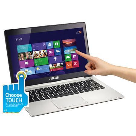 Asus VivoBook Touch Screen Ultrabook Computer Intel Core i U GHz GB HDD GB SSD GB RAM Windows  92 - 566