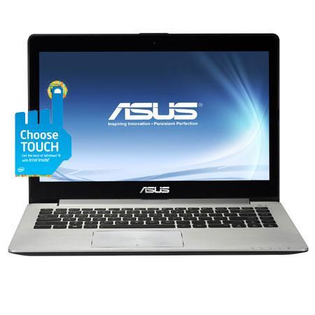 Asus VivoBook Touch Screen Ultrabook Computer Intel Core i U GHz GB DDR RAM GB HDD GB SSD Windows Bi 248 - 372