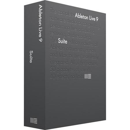 Ableton Upgrade from Intro to Live Suite Professional 97 - 244