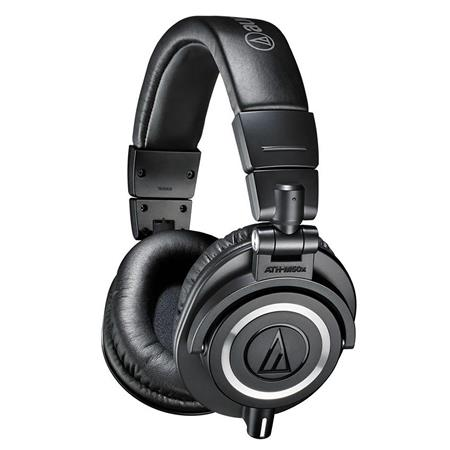 Audio Technica ATH MProfessional Monitor Headphones dB kHz Coiled and Straight Interchangeable Cable 63 - 575