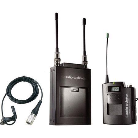Audio Technica ATW C Wireless Microphone System ATW R Receiver ATW T UniPak Transmitter Band C MHz 224 - 213