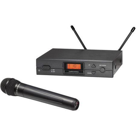 Audio Technica ATW a Wireless Handheld Mic System ATW Ra Diversity Receiver ATW Ta Handheld Transmit 66 - 263