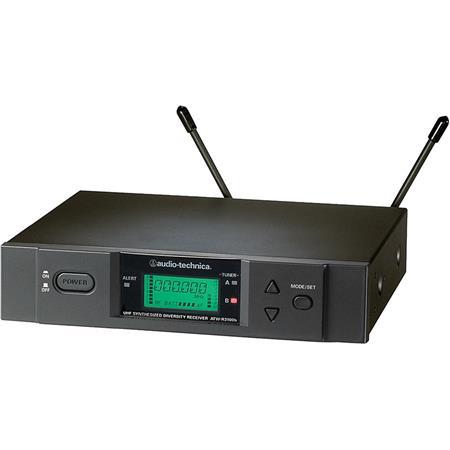 Audio Technica ATW R True Diversity UHF Wireless Receiver Band C MHz MHz 95 - 385