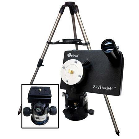 iOptron SkyTracker Camera Mount Kit Mount Ball Head Tripod Polar Scope lbs Load Capacity  43 - 580