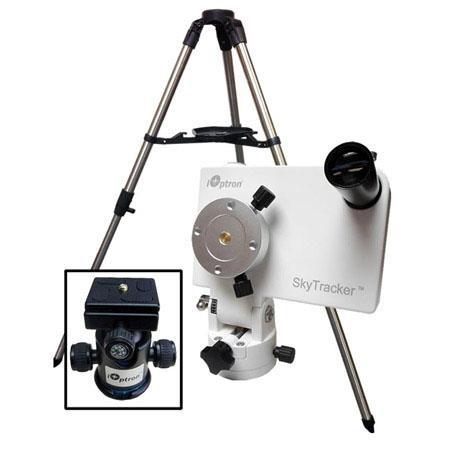 iOptron SkyTracker Camera Mount Kit Mount Ball Head Tripod Polar Scope lbs Load Capacity  92 - 121
