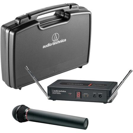 Audio Technica PRO Wireless Microphone System Includes PRO R Receiver PRO T Handheld Transmitter MHz 34 - 576