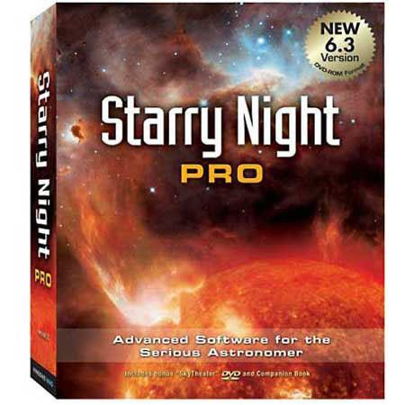 Starry Night Pro Advanced Astronomy Software Version  45 - 53