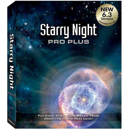 Starry Night Pro Plus Astronomy Software Version  87 - 408